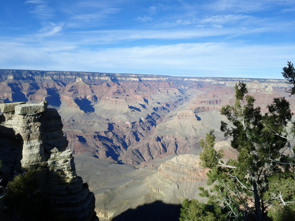 Lived in Utah most of my life. First time I've gotten around to visiting the Grand Canyon. Impressive, isn't it?